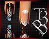 tb3:Zipper Brown Nails
