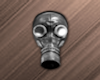 Silver Gas Mask