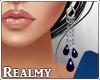 [R] Kiara Earrings-Blue