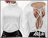 n  Open Back Sweater WH
