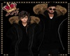 llKNZ*M Parka black/fur