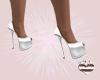 Fenri White Heels