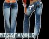 !M!  Pf blue jeans