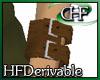 HFD 3D L WristCuff Brown