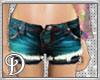 *D*Sexy Hot Pants blue
