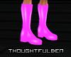 !TB! PVC Pink Boots