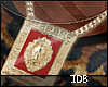 Red Goldplated Lion chin