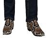 Snake Skin Boots Boa