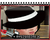 Black/White Mafia Hat
