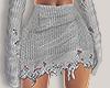 I│Knit Skirt Grey RLS