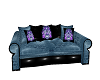 BLUE SUGARSKULL SOFA 2