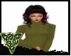 Fall Green Sweater