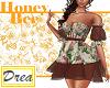-HoneyBee- Foral Dress
