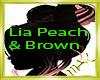 Lia Peach & Brown