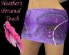 ~h~lavender design skirt