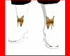White Moth Boots