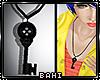 Coraline - Key Necklace