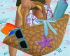 Kid Kawaii Beach Bag