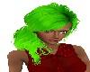 Aaurora Green Ponytail