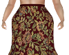 Para Flowered Skirt