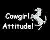 Cowgirl Attitude Tank