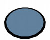 Baby Blue Black Trim Rug