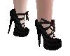 Gothic Doll Wedding Shoe