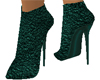 Emerald Leather Boots