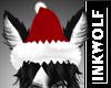 Wolf Santa Hat D/MF