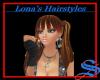 Blond/Brown piggy tails