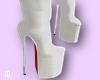 Bimbo White Boots