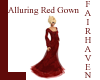 LF Alluring Red Gown