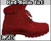 Red Botin Boots Tx1