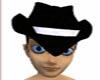 *SA71**Black cowboy hat