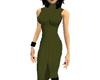 Lu's Olive Stitch Dress