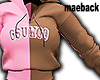 gsu.woo adult pink&brown