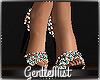 Blue Twinkle Heels