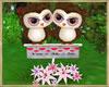 ~H~Valentine Owl Pink