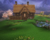 Log Home w Poses