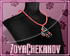 ZC Red Tree Necklace