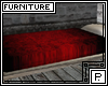 *P Medieval Bed Red