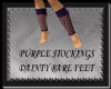 [FCS] Purple Stockings