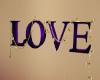 ~TQ~purple Love sign