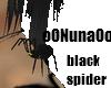 [Nun] Spider black