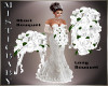 ~M~ Brides White Bouquet