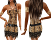 LEOPARD DRESS+BRACLETS