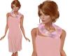TF* Peach Scarf & Dress