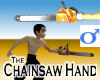 Chainsaw Hand -Mens v1