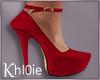 K red heels