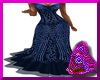 Blue Bling Formal Gown